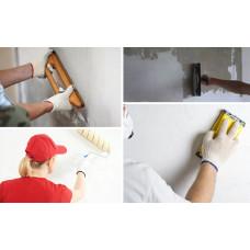 Применение фанеры для выравнивания стен под покраску