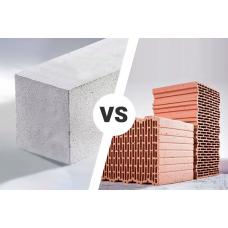 Пенобетон, или керамический кирпич. Как определиться?