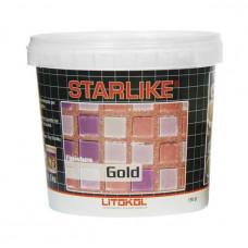 Декоративная добавка Litokol Starlike Finishes Gold (150 г)