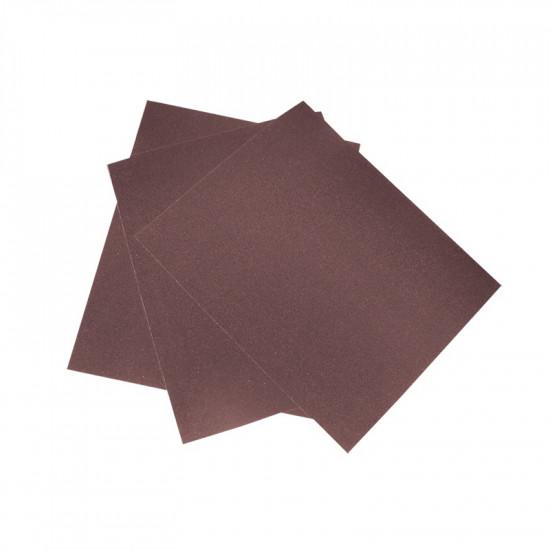 Шкурка шлифовальная №4, водостойкая на тканной основе (уп 10 шт) 17х24 см, 3544-04