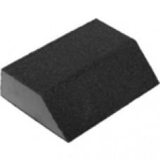 Губка шлифовальная Р120 ЗУБР МАСТЕР четырехсторонняя угловая, 100х68х42х26 мм, 35613-120