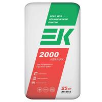 Клей для керамической плитки ЕК 2000 Keramik (25кг)