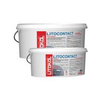 Адгезионная грунтовка Litokol Litocontact, розовая (5 кг)