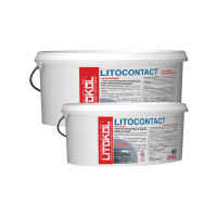 Адгезионная грунтовка Litokol Litocontact, розовая (10 кг)