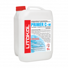 Грунтовка глубокого проникновения для фасада Litokol Primer C-м, белая (10 кг)