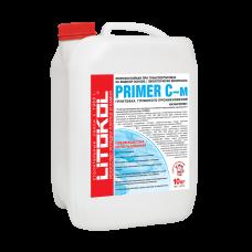 Грунтовка глубокого проникновения для фасада Litokol Primer C-м, белая (5 кг)