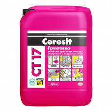 Грунтовка Ceresit СТ 17 (10 л)