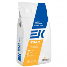 Гипсовая штукатурка ЕК TG40 White (5кг)