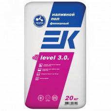 ЕК LEVEL 3.0. Финишный наливной пол 1-10 мм 20 кг