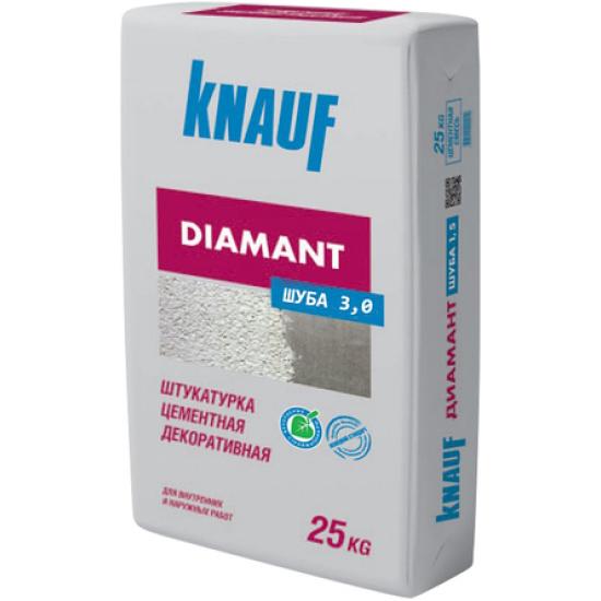 Штукатурка цементная декоративная Кнауф Диамант шуба 3.0. (25кг)