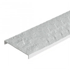 Бордюр универсальный, белый
