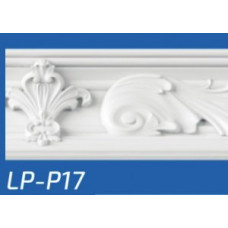 Плинтус потолочный LP-P17 122*122*2000 мм