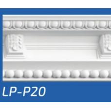 Плинтус потолочный LP-P20 135*135*2000 мм