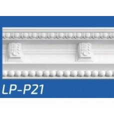 Плинтус потолочный LP-P21 95*95*2000 мм