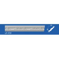 Плинтус потолочный LP-P31 80*80*2000 мм