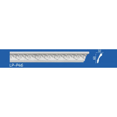 Плинтус потолочный LP-P46 32*60*2000 мм