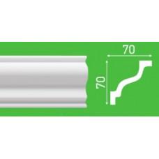 Плинтус потолочный LP-S10 70*70*2000 мм
