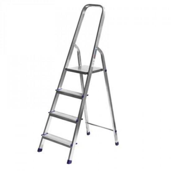 Лестница-стремянка алюминиевая, 4 ступени, 82 см СИБИН, 38801-4