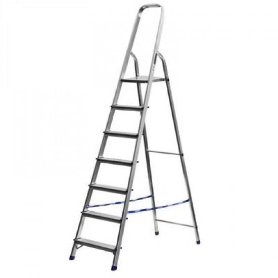 Лестница-стремянка стальная, 7 ступеней, 145 см СИБИН, 38803-07