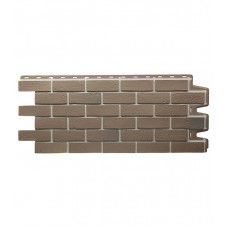 Панель фасадная Docke Berg, коричневый