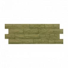 Панель фасадная Docke Stein, зелёный