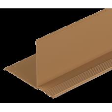 Угол фасадный DOCKE внутренний каштановый
