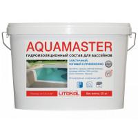 Гидроизоляционный состав Litokol AQUAMASTER,серый (20 кг)