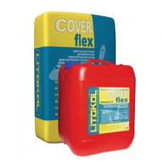 Гидроизоляционный цементный состав и добавка к гидроизоляции Litokol Coverflex