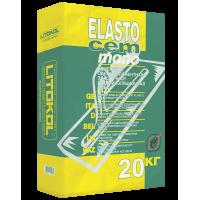 Гидроизоляционная смесь Litokol ELASTOCEM MONO, серая (20 кг)