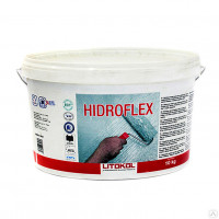 Гидроизоляционный состав Litokol Hidroflex, зелёный (10 кг)