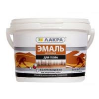 Эмаль акриловая для пола Лакра Золотисто-коричневая 0,9 кг ВЫВОД