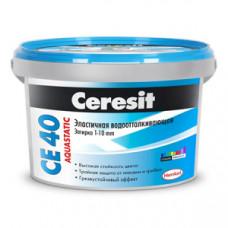 Затирка Церезит (Ceresit) CE 40 небесная 2 кг