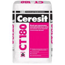Клей для минераловатных плит Ceresit СТ 180 (25 кг)