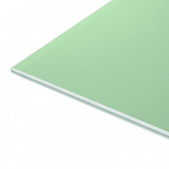 ГКЛВ Гипсокартонный лист влагостойкий Кнауф 9.5мм (1.2х2.5м)
