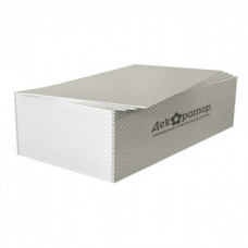 Гипсокартонный лист 12,5мм ГКЛ Декоратор 1,2х2,5м ГОСТ 32614-2012