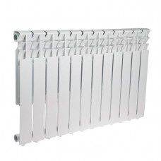 Радиатор алюминиевый STI 500x80мм 12 секций