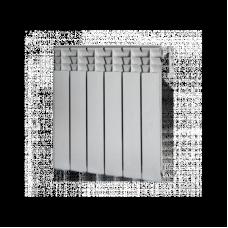 Радиатор алюминиевый STI 500x80мм 6 секций
