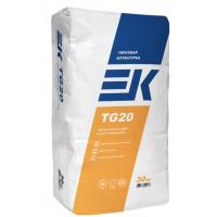 Штукатурная смесь ЕК TG 20 гипсовая 30кг