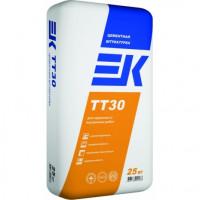 Штукатурная смесь ЕК ТТ30 фасадная 25кг