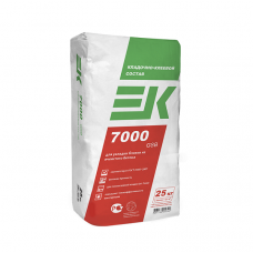 Кладочно-клеевой состав для газобетона и пенобетона EK 7000 gsb 25кг