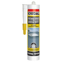 Герметик SOUDAL битумный для крыш (300мл) черный (15)