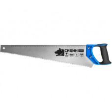 Ножовка по дереву (пила) 300 мм СИБИН ТУЛБОКС, шаг 9 TPI (3 мм), 15056-30