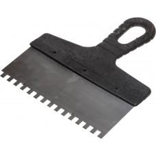 Шпатель фасадный зубчатый ЗУБР 250 мм, зуб 6х6, 10053-25