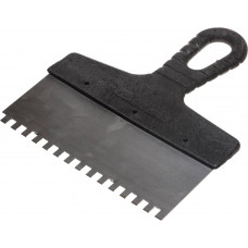 Шпатель фасадный зубчатый ЗУБР 450 мм, зуб 6х6, 10053-45 ВЫВОД