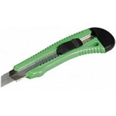 Нож STAYER MASTER, пластмассовый упрочненный, 18 мм