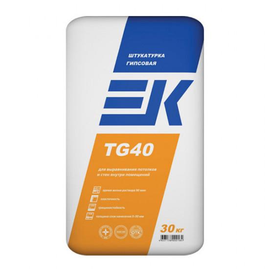 Гипсовая штукатурка ЕК TG40 (30 кг)