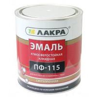 Эмаль ПФ-115 Лакра Красная 1 кг