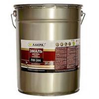 Эмаль для пола ПФ-266 Лакра Красно-коричневая 20 кг