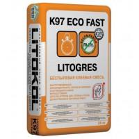Клей плиточный Litokol Litogres K97 ECO Fast 25кг