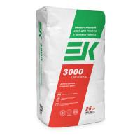 Клей для плитки ЕК 3000 UNIVERSAL 25кг
